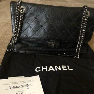 Authentic Chanel CC Crave Calfskin Flap bag